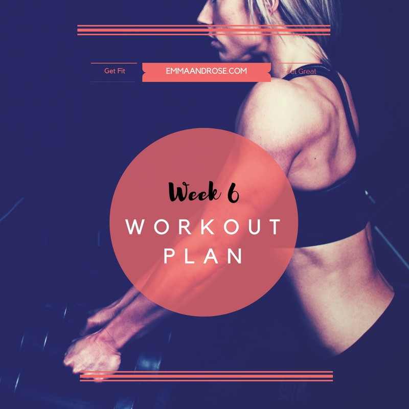 7-Day Workout Plan - Week 6