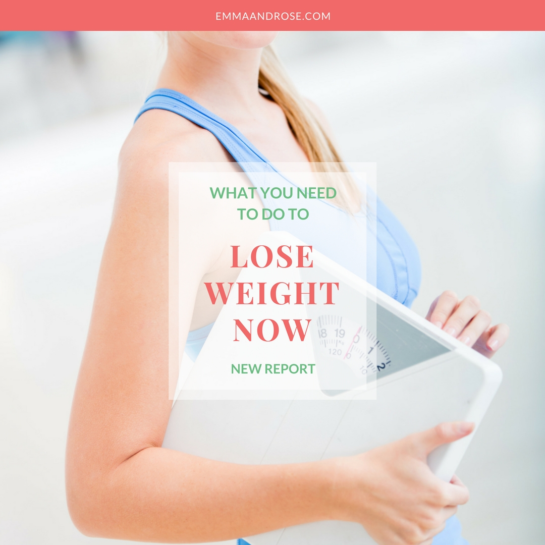 New Report: What You Need To Do To Lose Weight Now