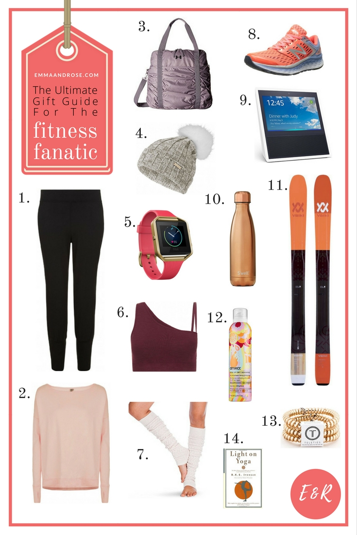 The Ultimate Gift Guide For Fitness Fanatics