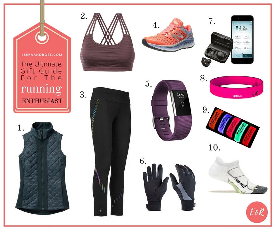 The Ultimate Gift Guide For Fitness Fanatics - The Running Enthusiast - FB