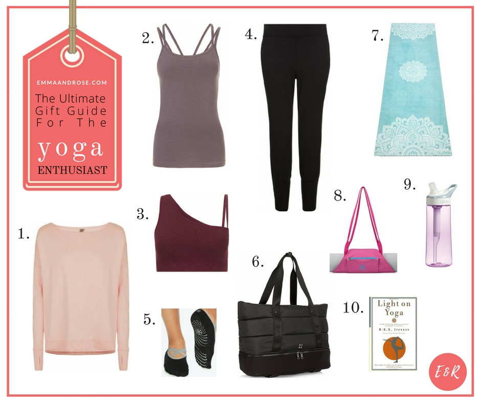 The Ultimate Gift Guide For Fitness Fanatics - The Yoga Enthusiast