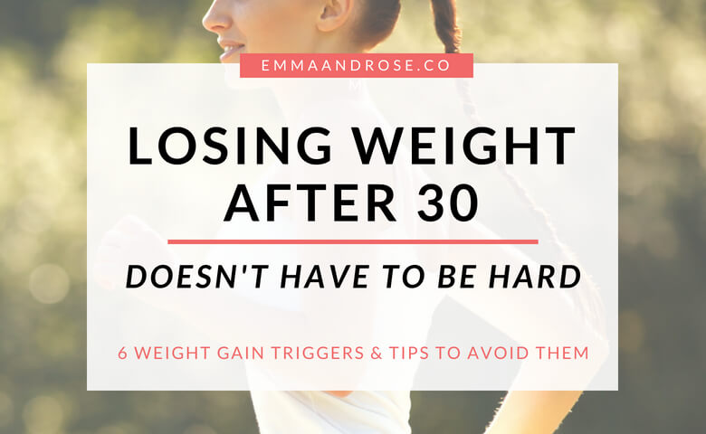 Losing Weight After 30 Doesn't Have To Be Hard