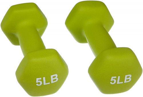 AmazonBasics Neoprene Dumbbell Pair