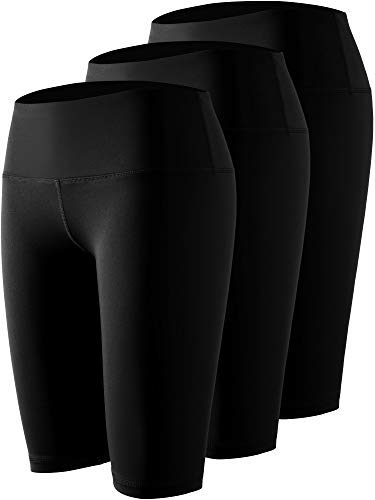 Cadmus Womens High Waist Compression Shorts