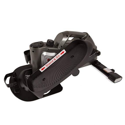JFIT Under Desk and Stand Up Mini Elliptical