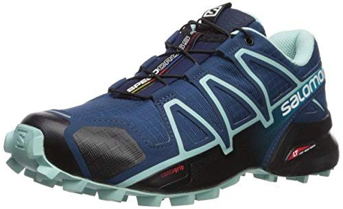 Salomon Womens Speedcross 4 Trail Sneakers