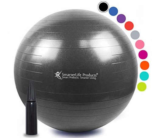 SmarterLifeProducts Exercise Ball for Yoga